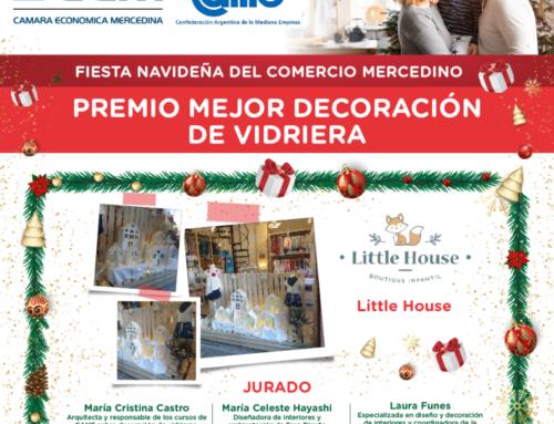 Little House es el Comercio Ganador a la Mejor Decoración de Vidriera