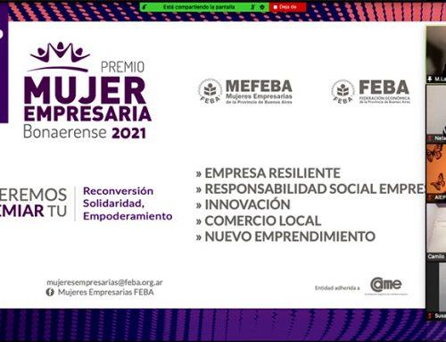 Abierta la convocatoria para los premios Mujeres Empresarias Bonaerenses